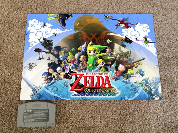 Legend of Zelda: Windwaker Poster #2 (18x12 in)