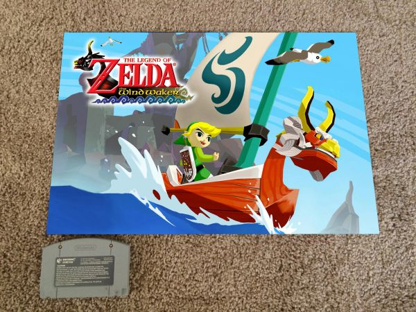 Legend of Zelda: Windwaker Poster (18x12 in)