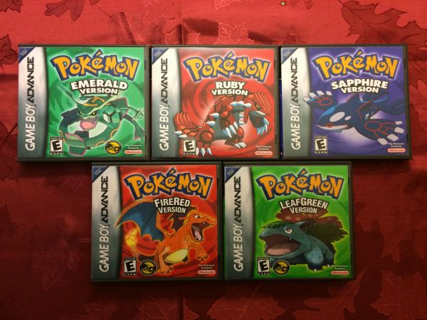 Pokemon GBA Bundle