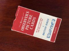 003 - Full Set Observer Picture Cards, British Birds :SOLD: