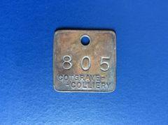 001 - Cotsgrave Colliery Token