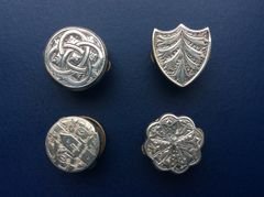 004 - Four Old Batchelor Button's, :SOLD: