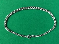182 - Silver Watch Chain