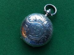192 - Silver Sovereign Case, Birmingham 1909 :SOLD: