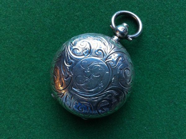 192 - Silver Sovereign Case, Birmingham 1909 :SOLD: