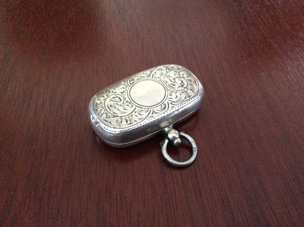 072 - Silver Sovereign Holder, Chester 1923 :SOLD: