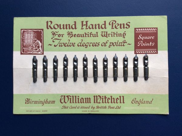 022 - Full Advertising Card Of Mitchell's Nibs SOLD: