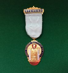 082 - Royal Masonic Medallion, 1950 :SOLD:
