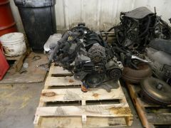 ENGINE W/ TRANSMISSION FOR 2008 SMART CAR FORTWO PURE/PASSION