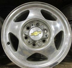 SET OF GM-CHEVY TRUCK ALUMINUM WHEELS