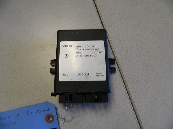 CENTRAL LOCKING CONTROL MODULE FOR 2007-2009 DODGE SPRINTER