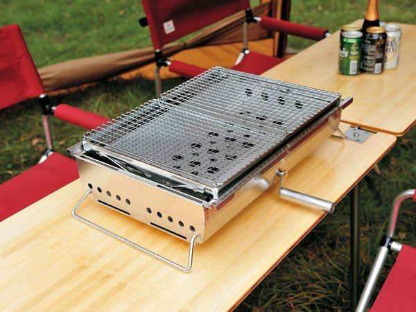 popular products for 3~4 people CK-130 Snow Peak IGT System BBQ BOX YAKIMUSHA