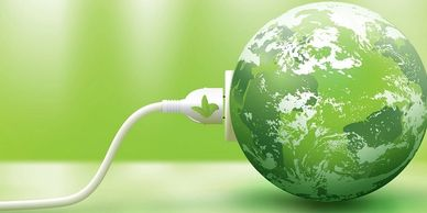 world under green power