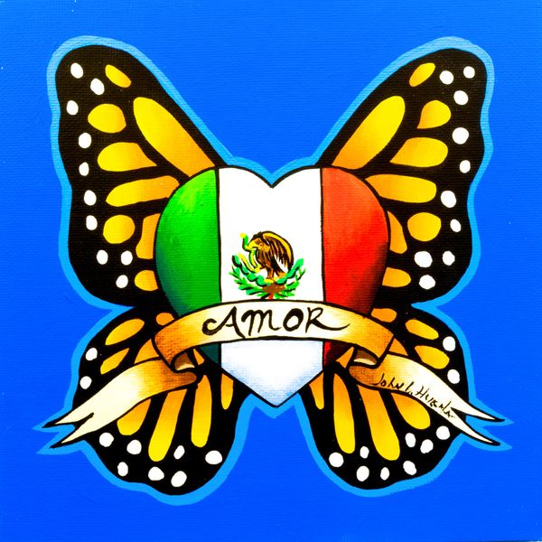 Mexican flag butterfly