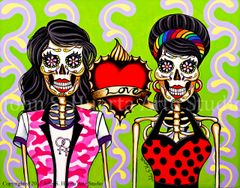 Wives Original acrylic on canvas