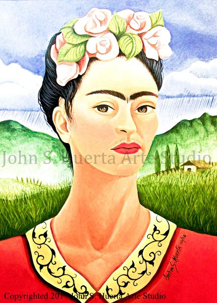 Frida in Meadow