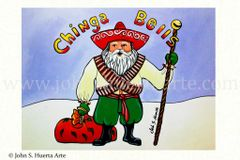 Chinga Bells set of 12 blank holiday cards if interested in mixed set of 12 please message me with details