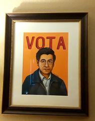 "Cesar Chavez ""Vota"""