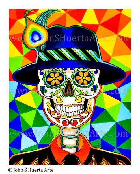 """""""Chico"""" Original acrylic on canvas"""