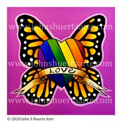 Rainbow pride love