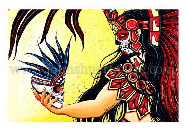 Ancestors art greeting card