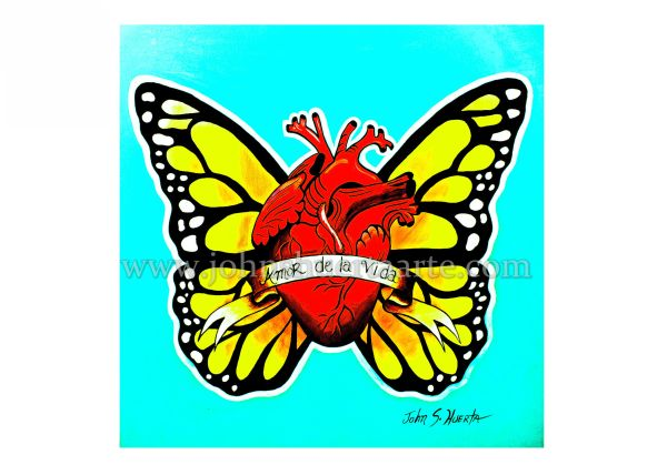 Amor de la Vida art greeting card