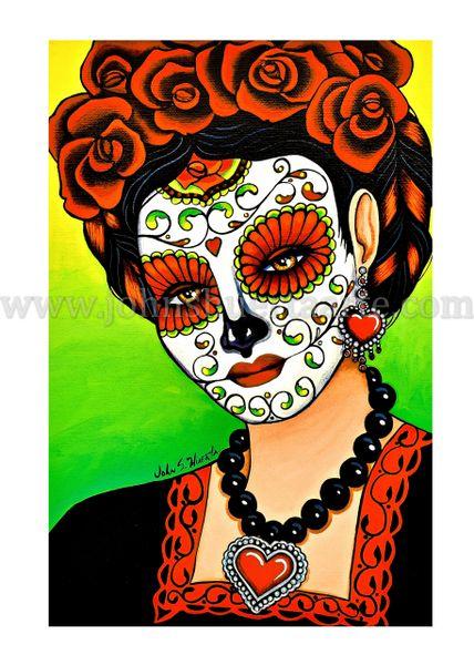 Corazona art greeting card