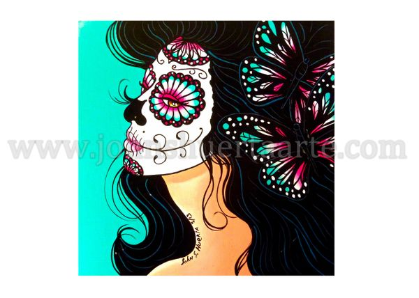 Marisol art greeting card