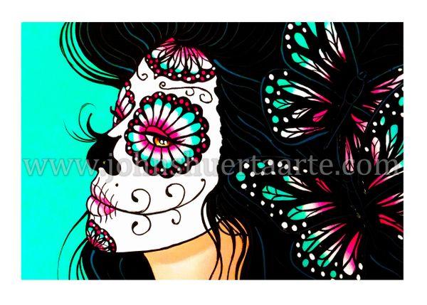 Marisol art greeting card