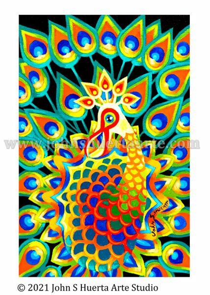 Alebrije Pavo Real (Peacock)