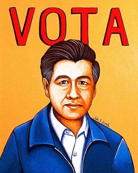 Cesar Chavez Vota