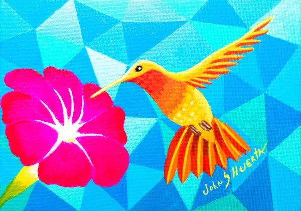 Fire Hummingbird