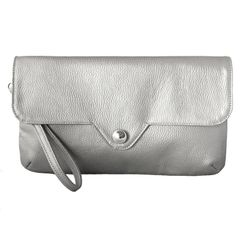 Silver Crush Clutch