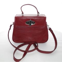 Red Leather Tag-A-Long