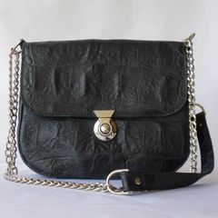 Black Vanna Bag - Chain Reaction