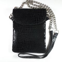 Black Cell Phone Purse
