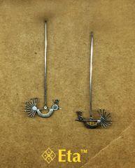 Silver birdie nosepin