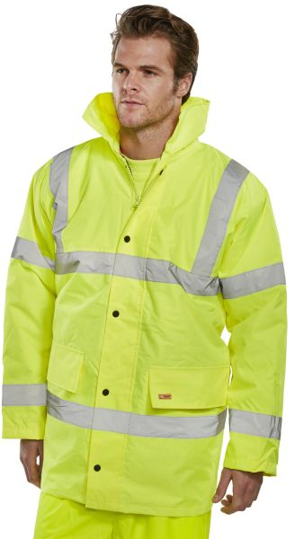 Hi-Viz Constructor Traffic Jacket Parka
