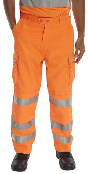 Hi-Viz Cargo Trouser