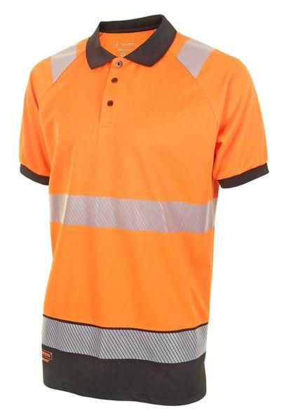 Hi-Viz Contrast Polo Shirt