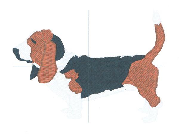 Bassett Hound logo