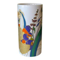 Original Rosenthal Porcelain Flower Vase Studio-Linie Germany by Wolfgang Bauer