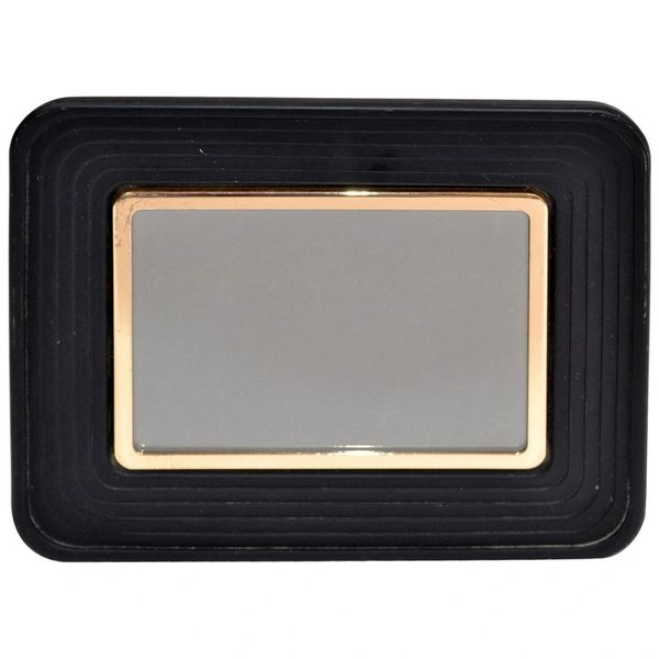 Pierre Cardin Style Mid-Century Modern Bronze & Resin Picture Frame Black & Gold
