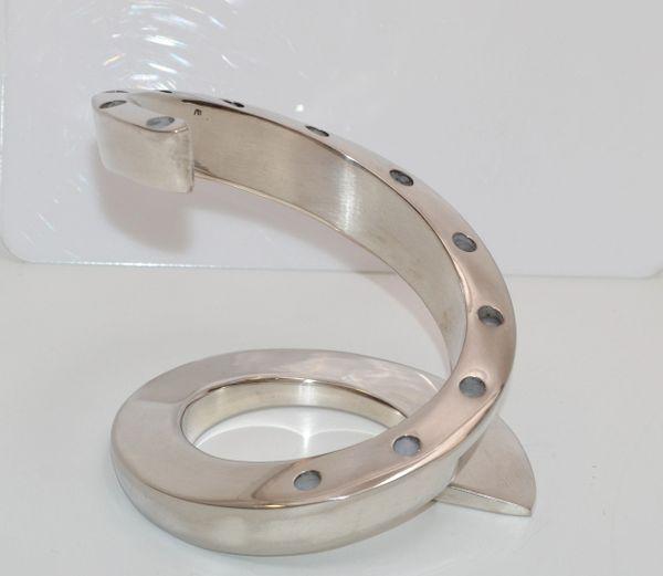 Dansk Designs France Silver-Plated Spiral Tapered Candlesticks, Candle Holder