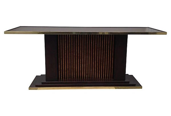 Trouvailles Art Deco Tiered Console