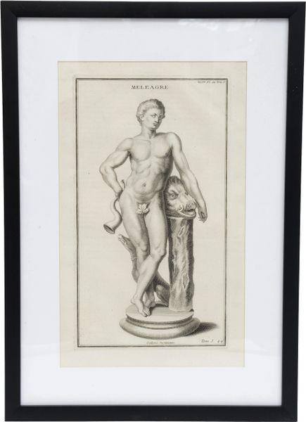 Copper Engraving of the Son of Althaea, Bernard de Montfaucon.