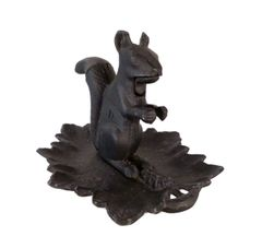 Vintage Cast Iron Nutcracker Squirrel