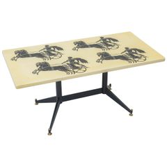 Piero Fornasetti Bighe Coffee Table
