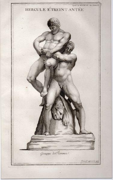 Hercule Etreint Antee