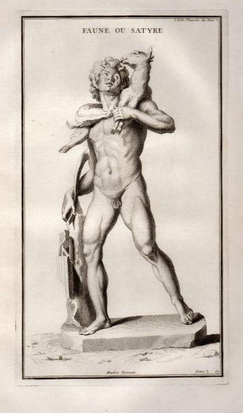 Bernard de Montfaucon, Satyre.